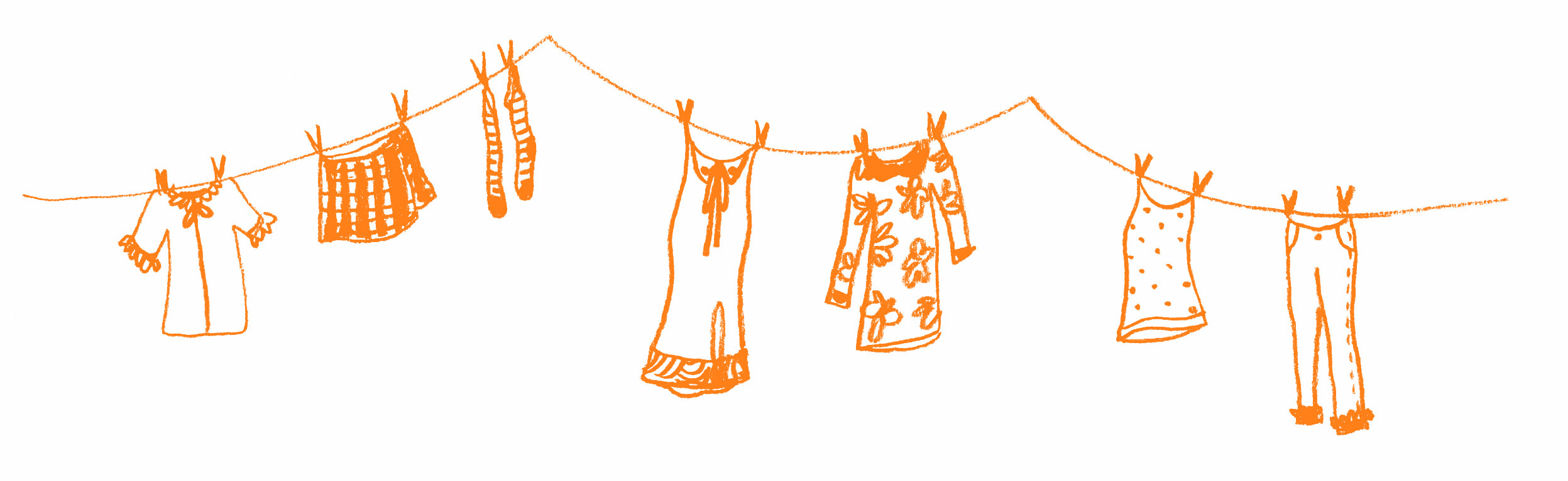 roupas desenhos coloridos desenho de diversas roupas para colorir